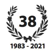 Lauwerkrans met logo